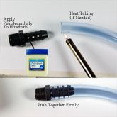 Aquarium or Pond UV Sterilization Sterilizer Tubing Installation Tips