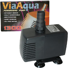 AquaTop, Via Aqua, SWP-1300 Aquarium Submersible Pump