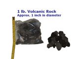 volcanic rock aquarium or pond filter media