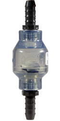 PVC 1/2 inch with barbs Water Swing Check Valve